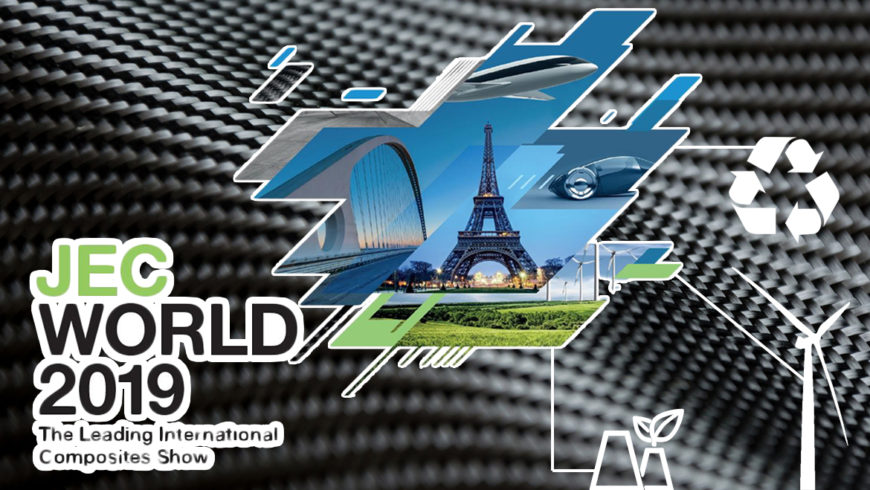 Le JEC Group et Recycling Carbon au service de l'industrie des composites pour le JEC World des 12, 13 et 14 mars 2019 à Paris