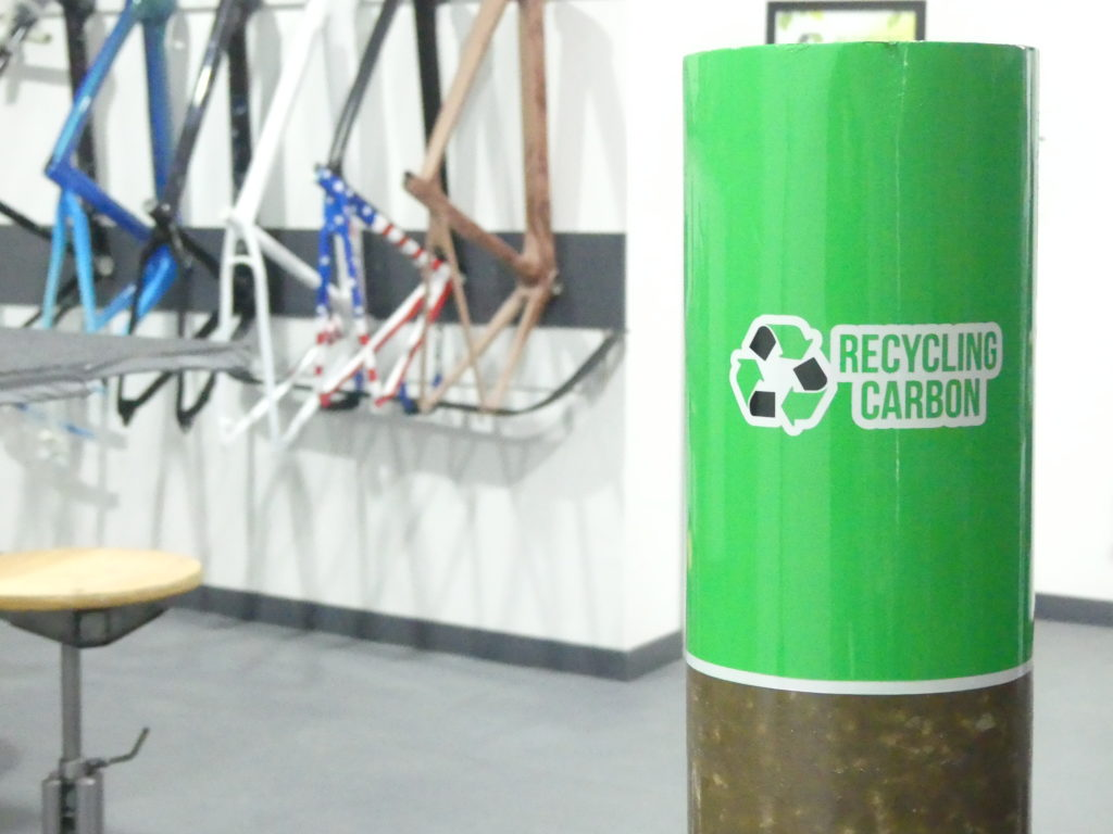 La borne recycling carbon