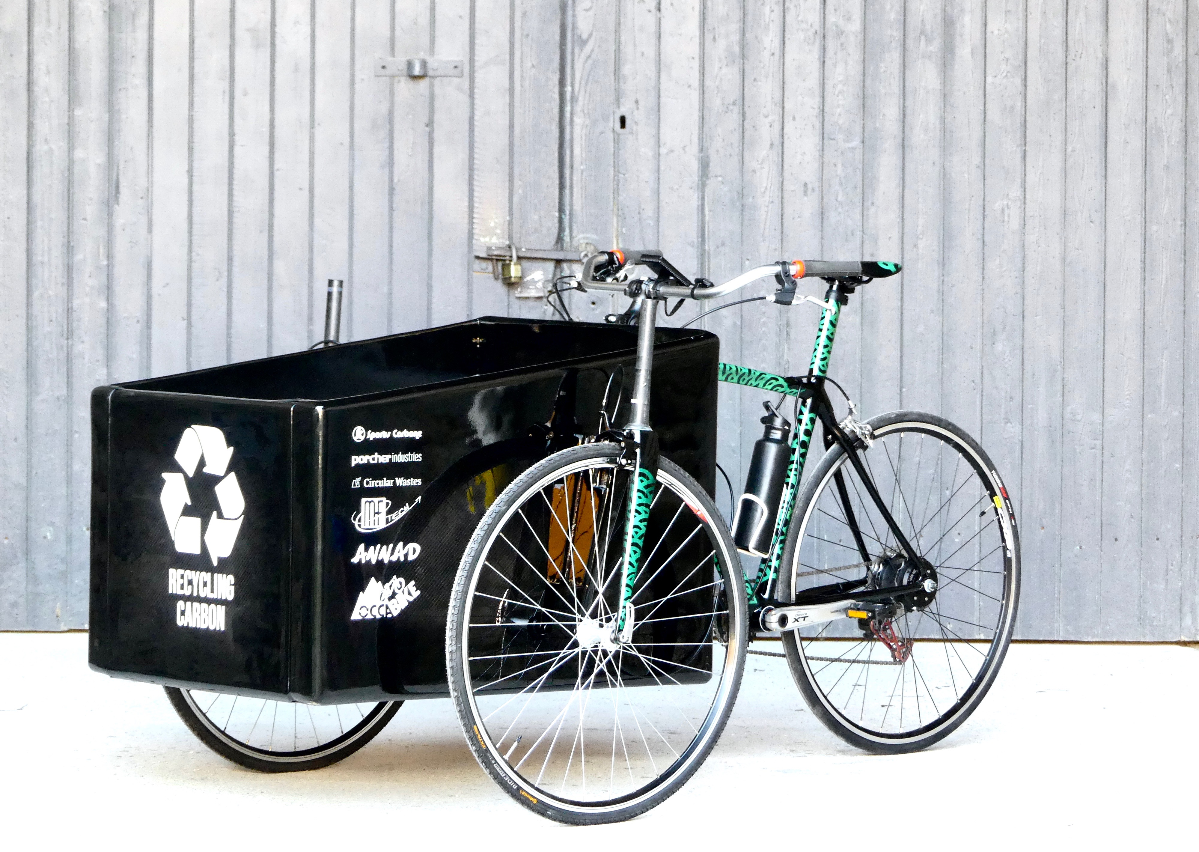 velo cargo by recycling carbon